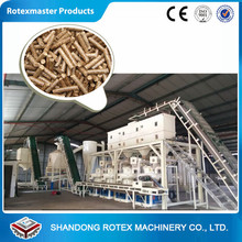 Complete Wood Sawdust Pellet Production Line Biomass Pellet Making Machinery Line