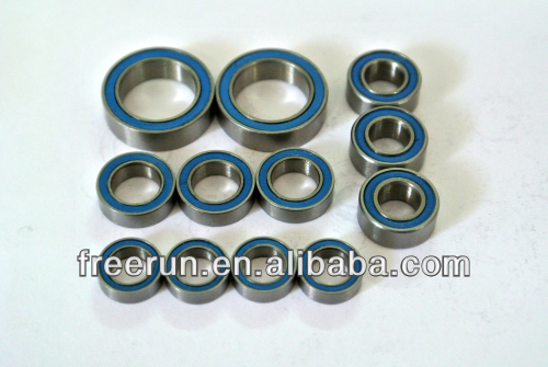 High Performance MUGEN MRX-5 W/SERVO SAVER/CLUTCH TB ceramic bearing kits with different rubber seal color