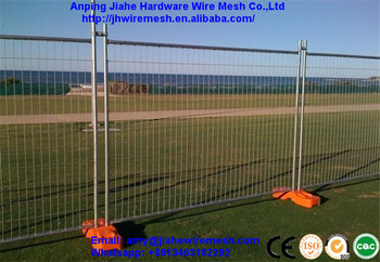 hot dipped galvanized temporary fence/mobile fence/portable fence