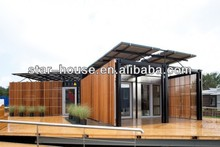 fire resistant modular house for bungalow chalet