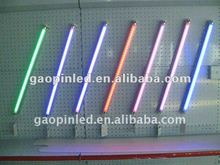 red blue green pink led tube