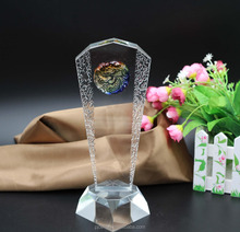 The Latest Design Of The Best Selling Shining Crystal Award Glass Showpiece