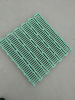 Plastic poultry slat floor for chicken farm
