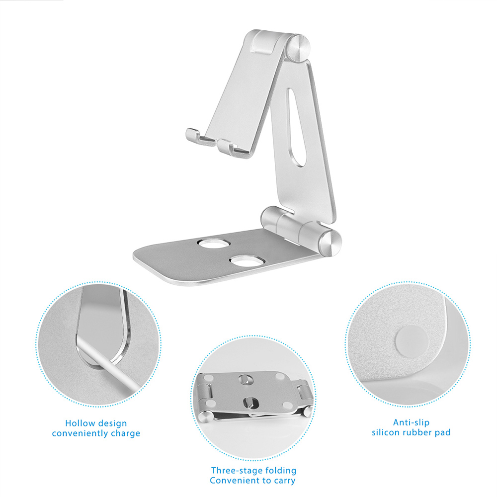 Mini size portable foldable universal mobile phone holder mount stand for tablet ipad