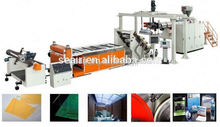 plastic extrusion,APET/PETG/CPET PET plastic sheet extrusion PET extruder machineplastic extrusion machine
