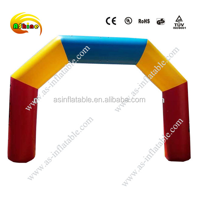 custom cheap inflatable welcome arch for promotion