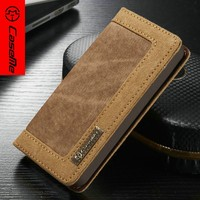 Caseme leather mobile phone case for iphone 5 SE 5S cell phone case for iphone 5s SE