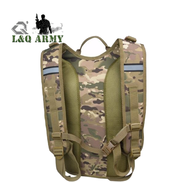 Men Outdoor Sport Hiking Backpack Tactical Polyester Cloth Backpack