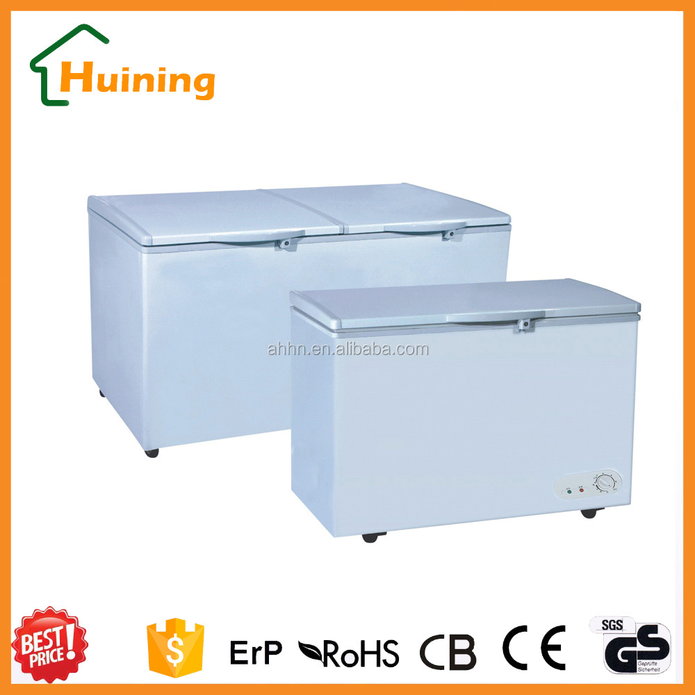 527L Double Open Door Deep Chest Freezer with CB CE approval