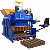 Movable flyash hollow block maker construction machines for sale