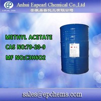 Methyl acetate names pesticides with chemical formula