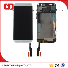Silver NEW LCD screen For HTC One M8 831C LCD Display Digitizer Touch Screen Assembly+Frame