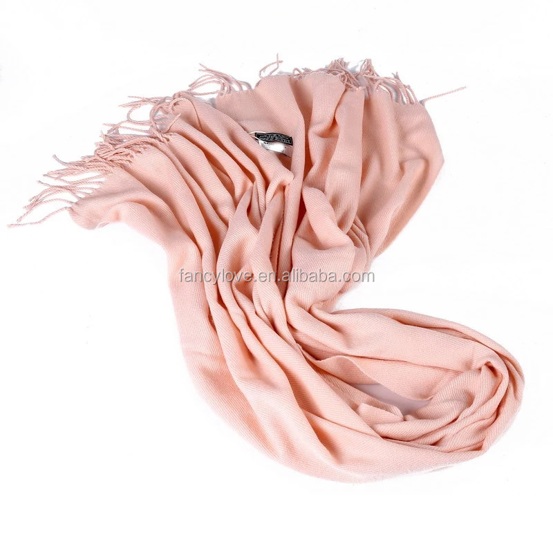 70*180cm solid color high quality fleece factory 100% wool scarf