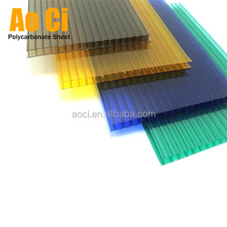 2018 high impact greenhouse polycarbonate sheet price