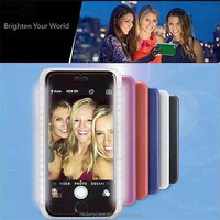 2016 for iPhone case that lights up, providing good lighting for selfie photos alibaba china led case for mobile phones