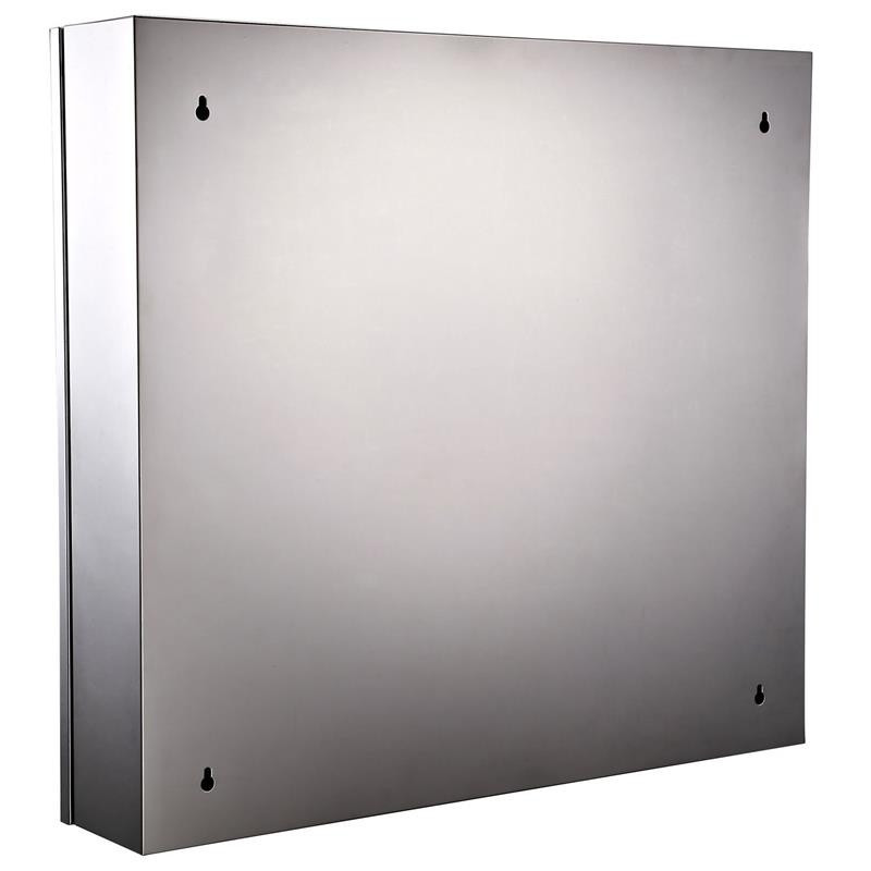 Stainless Steel Wall Mounted Bathroom Mirrored Cabinets