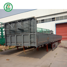 Coal Or Grain Hydraulic Truck Trailer And 3 Axle Semitrailer Series For Sale