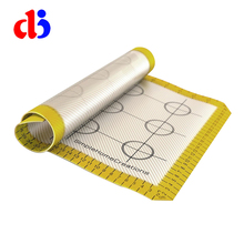 Top manufacture factory supply heat resistant clear silicone baking mat
