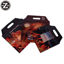 Customized Printed Promotional Heat Sealed Laminated Plastic Roast Chicken Bag(zzfp032)