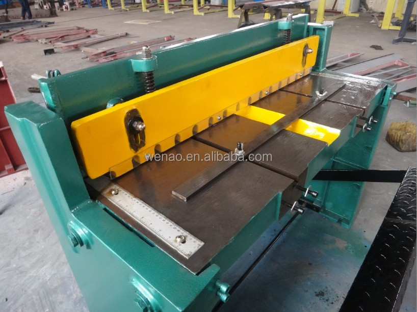 Q01-1.2X1000 foot manual cuts manufacturers, foot operated shear machines, pedal shears
