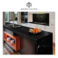 Incredible via lactea granite black kitchen countertop decoration