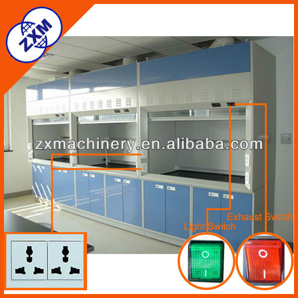 high performance low volume laboratory fume cupboard