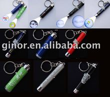 LED projector keychain/logo projector keychain/projector torch