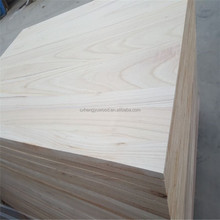 China wood factory supply high quality paulownia timber no joint