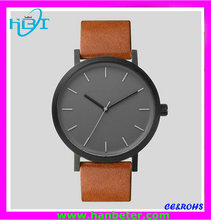 best selling products in japan men leather miyota2035 movement anticlockwise watch