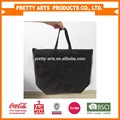 cheap custom black tyvek tote bags with zipper