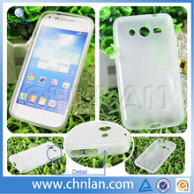 Wholesale Newest Transparent Clear Plain Protective Cover for Samsung Core 2 G3558V Mini Soft TPU Phone Case