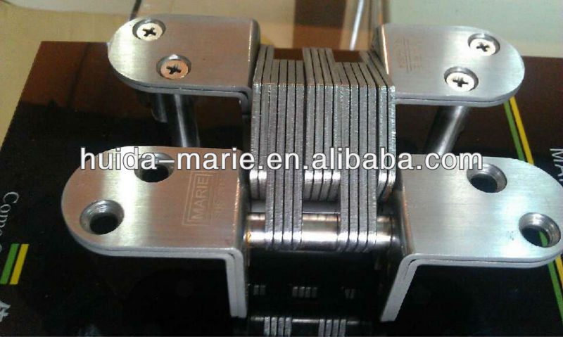 factory supply patened product Stainless Steel Conceal Hinge in 7 sizes