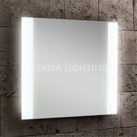 Bath Mirrors Type And Illuminated Feature LED Illuminated Light Mirror For Bathroom