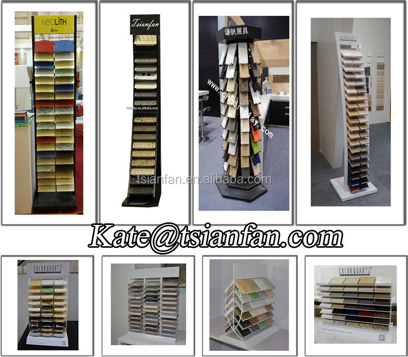 SR006---Quartz , Marble, Granite Sample Display Stand