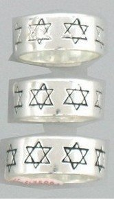 Star of David Rings