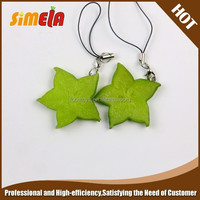 Simela Wholesale Custom Fruit Rubber Keyring