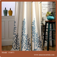 New curtains style for 2016 Wholesale design curtains and drapes printing Luxury Curtain