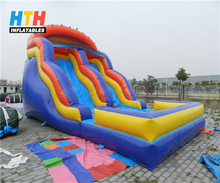 Jungle inflatable water slide for children