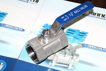 Stainless Steel ball valve 1 PC design, T304 with mark T316 1000WOG,lighter