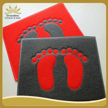 According to your own design made the pvc coil door mat