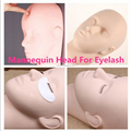 Mannequin Training Head Eyelash Eye Extension Practice Make Up Face Painting