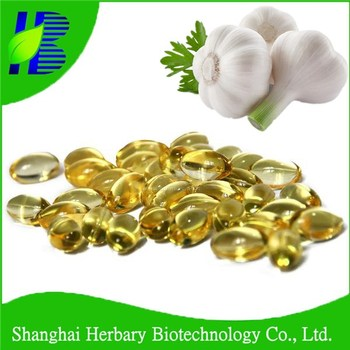 ISO9001&GMP Certified Hot Sale Natural Garlic Extract Garlic Oil Soft Capsules