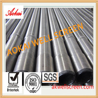 Stainless steel male and female threaded wedge wire screens