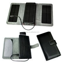 High quality portable solar car battery charger for laptop and car battery
