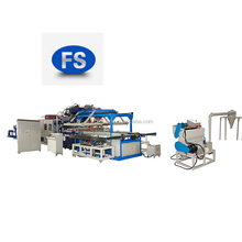 automatic disposable food box machine / ps food container production line