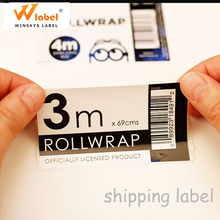 Professional Label Printing Company Making advertisement sticker Custom Shipping Mailing Labels
