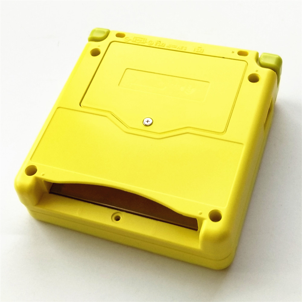 Yellow SpongeBob SquarePants Video Game Console Case Shell Full Housing for GBA SP
