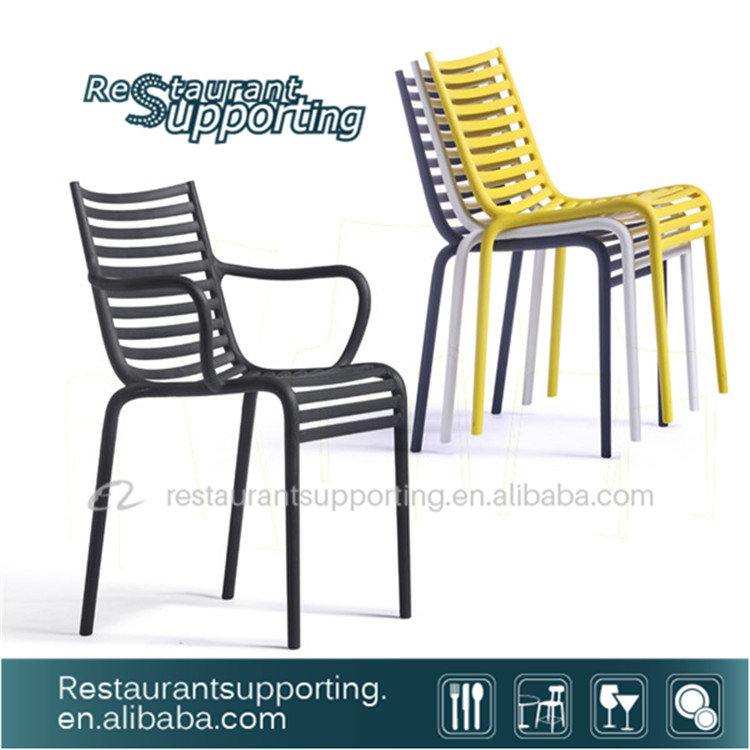 Perfect service Outdoor Furniture high back plastic arm chair manufacturer