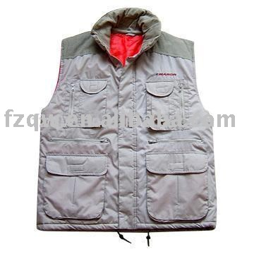 Fisherman outdoor fleece vest