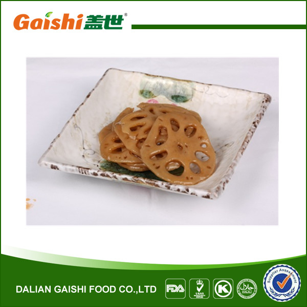 Seasoned Lotus Root Wild Vegetable